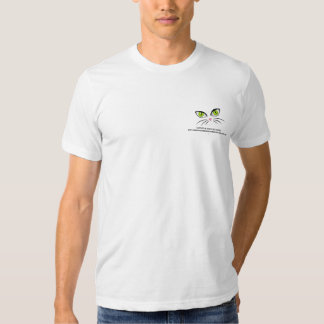 cat-face-eyes, I support 96 Ranch Cats Rescue h... Tee Shirt