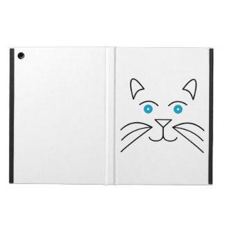 Cat face iPad air case