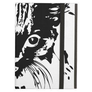 cat face iPad air covers