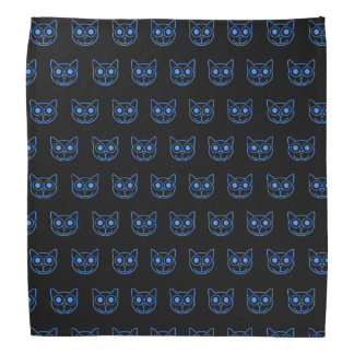 Cat Face Outline TP Bandana