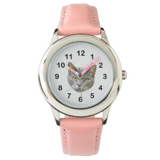 Cat Face Watch