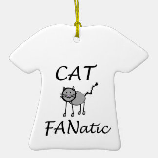 Cat fanatic ceramic T-Shirt decoration