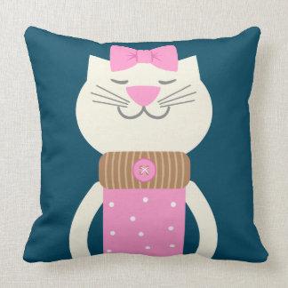 Cat Fashion Cushion