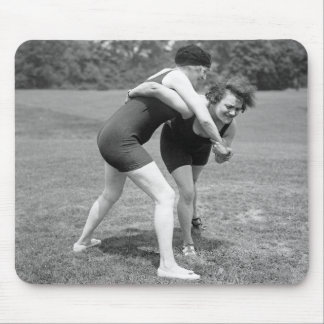 Cat Fight, early 1900s Mouse Pad