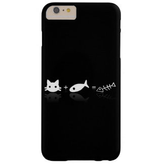Cat + Fish Barely There iPhone 6 Plus Case