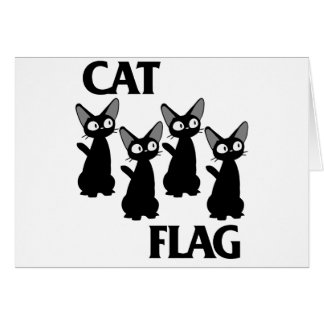 CAT FLAG 2 CARD