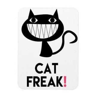 Cat Freak! Fun Photo Magnet
