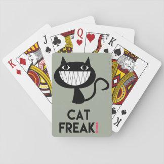 Cat Freak! Fun Playing Cards