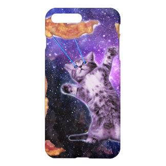 Cat Frying Bacon With Eye Laser iPhone 7 Plus Case