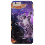 Cat Frying Bacon With Eye Laser Tough iPhone 6 Plus Case
