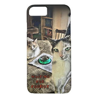Cat Funny Humor Literary Barely There iPhone Case