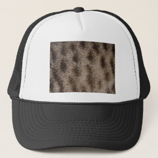 CAT FUR TRUCKER HAT