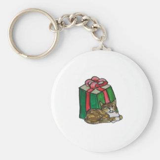 Cat Gift Keychain