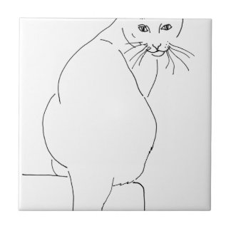 Cat Gift Shops.jpg Small Square Tile