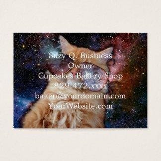 Cat Glasses - sunglasses cat - cat space Business Card