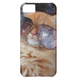 Cat Glasses - sunglasses cat - cat space iPhone 5C Case
