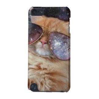 Cat Glasses - sunglasses cat - cat space iPod Touch (5th Generation) Case