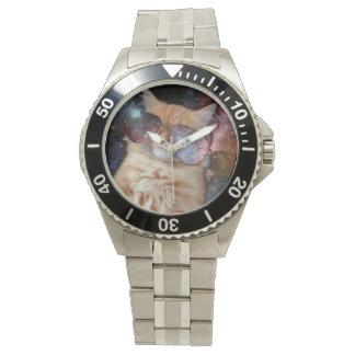 Cat Glasses - sunglasses cat - cat space Watch