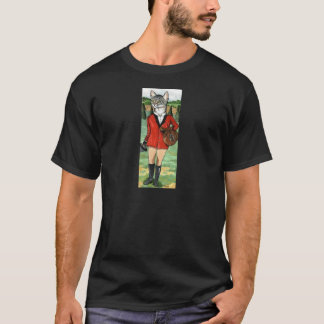 Cat goes Fox Hunting HUNT CAT T-Shirt