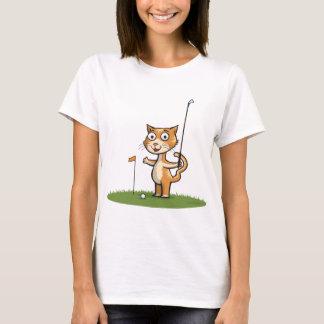 Cat Golf T-Shirt