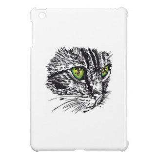 Cat green eyes ipad mini covering iPad mini cover