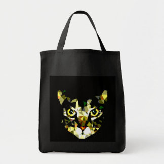 Cat Grocery Tote Black Grocery Tote Bag