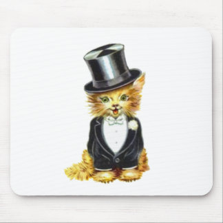 Cat Groom Mouse Pad
