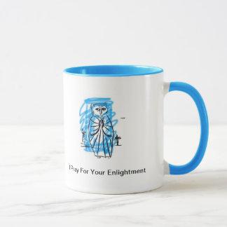 Cat Guru - I Pray for Your Enlightment Mug