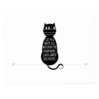 Cat Haiku Postcard