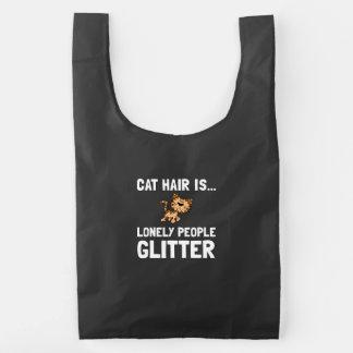 Cat Hair Baggu Reusable Bag