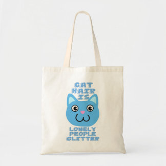 Cat Hair Budget Tote Bag