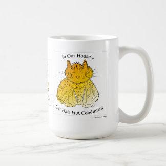 Cat Hair is a Condiment - Mug