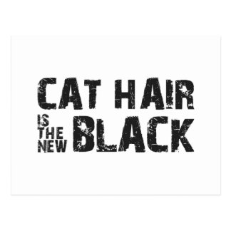 Cat Hair is the New Black Post Card