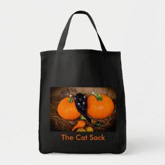 Cat Halloween Tote Bags
