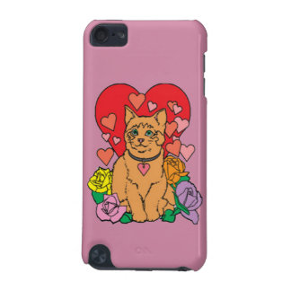 Cat has lots of Love iPod Touch (5th Generation) Cover