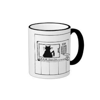 Cat hater mug - microwave design