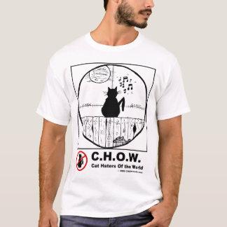 Cat Haters Scope Cartoon T-shirt