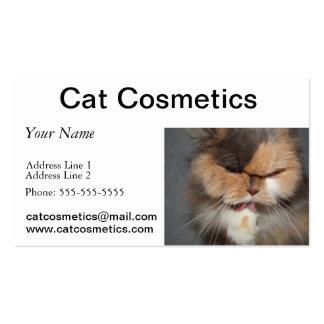 cat head business card templates