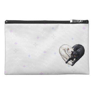 Cat Heart Accessory Bag