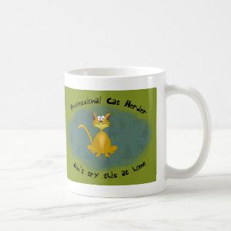 Cat Herder Funny Mug
