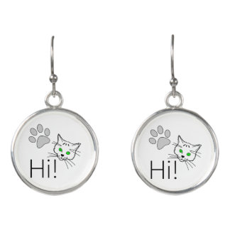 Cat - Hi! Earrings