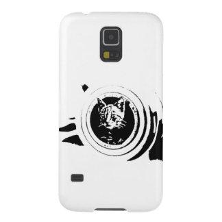 Cat hunter '' Cannon kitten'' Galaxy S5 Covers