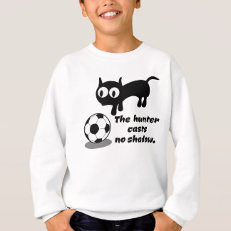 Cat Hunting A Ball Sweatshirt