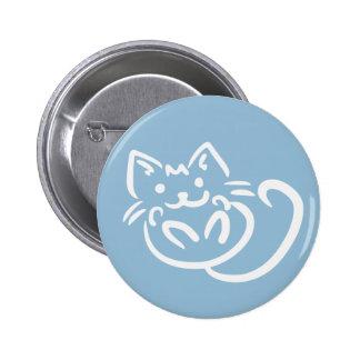 Cat Illustration custom color buttons