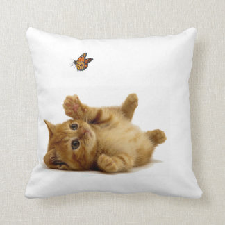 Cat image for Polyester Throw Pillow Throw Cushions