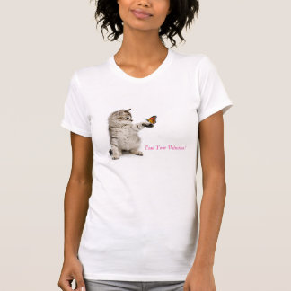 Cat image for women's-t-shirt T-Shirt