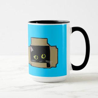 Cat in a Box Mug