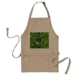 Cat in a Field Aprons