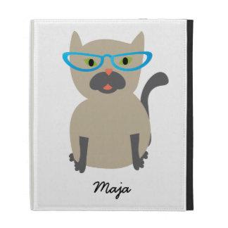 Cat in Glasses iPad Folio Covers