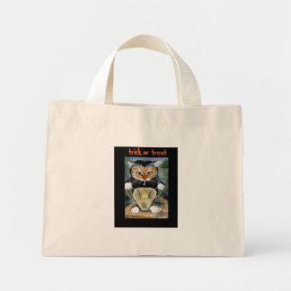 Cat in Halloween Costume tote bag